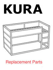 IKEA KURA reversible Bed Frame Replacement parts Hardwares for Bed Assembly NEW
