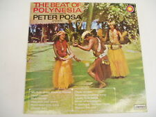 Peter Posa - The Beat Of Polynesia - KIWI LP