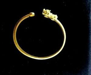 22 K 24 K Pi Yao Pi Xiu Bracelet Bangle for Magic Wealth Good Luck Charm