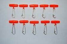 100 BRAND NEW ZIP SLIDER BOOMS,SEA/COARSE FISHING - FREE POSTAGE