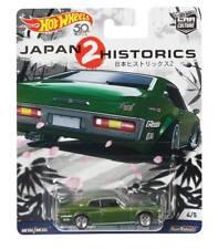 HOTWHEELS JAPAN HISTORICS 2 NISSAN LAUREL 2000 SGX ALLOYS RUBBER TYRES CREASED