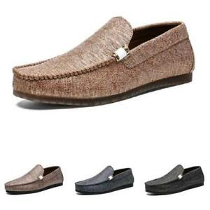 Mens Pumps Slip on Loafers Shoes Driving Moccasins Flats Soft Comfy Breathable D
