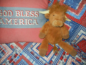 Scentsy Buddy Hamish Highland Cow Plush Stuffed Animal No Scent Pack