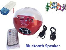 Wireless Bluetooth Speaker Portable Magic Color Ball LED TF card for iPhone Bass
