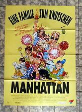EINE FAMILIE ZUM KNUTSCHEN IN MANHATTAN * A1-VIDEO-POSTER -German 1-Sheet ´92