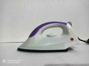 Thermostatic Electric Dry Iron With Aluminium Alloy Sole Plate