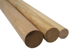 Hilwood Rundstab Rundstäbe Eiche Esche Buche Massivholz Holz Ø 60 mm bis 120 mm