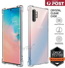 Samsung Galaxy S10 S9 S8 Note10plus Case Shockproof Silicone Clear Bumper Cover