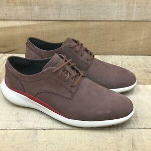 Cole Haan Mens Grand Troy C33762 Brown Oxford Shoes Lace Up Size 8.5 M