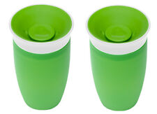 Munchkin Miracle 360 Degree Sippy Cup 296ml Green No Spills Top Quality