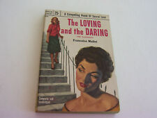 THE LOVING AND THE DARING  1954  FRANCOISE MALLET   EARLY LESBIAN SECRET LOVERS
