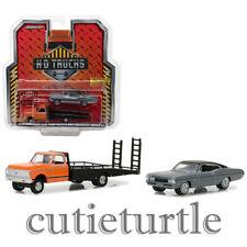 Greenlight HD Trucks 1972 Chevrolet C-30 Ramp Truck 1968 Impala 1:64 33120 A