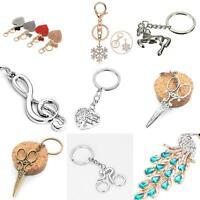 EB_ Fashion Rhinestone Heart Pendant Handbag Keychain Bag Keyring Key Chain Reli
