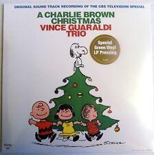 A Charlie Brown Christmas - Vince Guaraldi Trio - 2012 - Green Vinyl LP - NEW