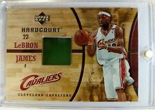 2006 06-07 UPPER DECK HARDCOURT LeBron James GAME USED FLOOR COURT #GF24, RELIC