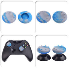 20x Custom Blue&Grey Thumbsticks Grips Cover for Xbox 360 One PS3 PS4 Controller