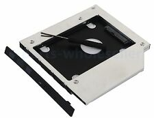 SATA 2nd Hard Drive SSD HDD Caddy Bay for DELL Latitude E5440 E5540 E6440 E6540