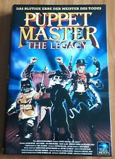 dvd PUPPET MASTER - THE LEGACY - Rare Limited Hartbox Edition 50 pieces !!!
