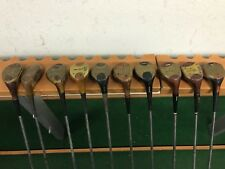 NICE LOT 10 Vintage MACGREGOR GOLF Persimmon 5 WOODS Right RH Steel Laminated #2