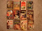 Lot of 12 Vintage paperbacks 10 first printings 1940-60 Nana Lodger Death Dealer