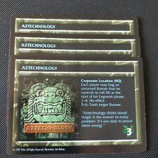 AZTECHNOLOGY | Shadowrun TCG | NM Rare | 1997 OOP CCG