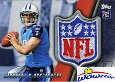 2011 Topps Jake Locker EXCLUSIVE NFL SHIELD RC PATCH Card from Factory Set !
