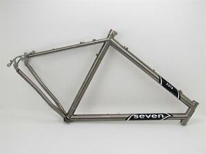 """26"""" Seven Cycles Sola Titanium Hardtail MTB Frame, XL"""