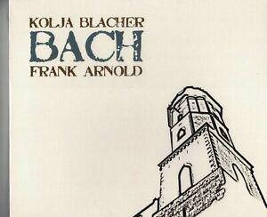 Kolja Blacher: Johann Sebastian Bach; Partitas Nr. 2 + 3 (+ Frank Arnold) CD new