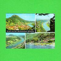 Ansichtskarte Gruß aus der Sächsischen Schweiz