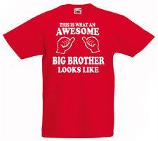 Genial Grandes Brother Camiseta 3-13yrs Regalo Boys Cumpleaños Divertido