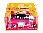 Facet Silver Top Competition Cylindrical Fuel Pump Clamshell Kit FEP59SV