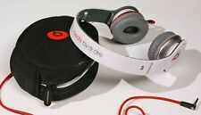 Beats by Dr. Dre Solo HD Monster  Headphones (White/Red)