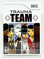 Trauma Team - Nintendo Wii - Brand New   Factory Sealed