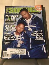 THE SOURCE MAGAZINE #151 April 2002 Master P Lil' Romeo Free Posters Inside!