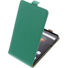 Funda para Cubot Dinosaur / NOTE S protectora Teléfono Móvil con tapa verde