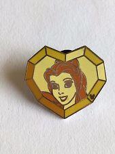 Pin 61203 Dlr - 2008 Hidden Mickey Cast Lanyard Series - Princess Gems (Belle)