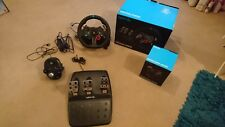 Logitech G29 Steering Wheel, Pedals and Shifter in boxes, vgc PlayStation 4