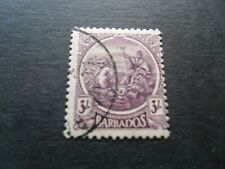 Barbados 1921  KGV  3/-  Fine Used stamp as per picture
