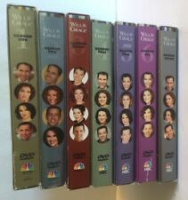 Will & Grace Complete Seasons 1-7 DVD Series Lot Comedy Sitcom Extras 28 discs