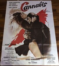 Cannabis / Serge Gainsbourg/ Cinema / Affiche / Poster / 120x160