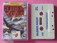 Sinclair ZX Spectrum - Bug-Byte GLIDER RIDER Quicksilva 1988 *NEW!