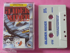 Sinclair ZX Spectrum - Bug-Byte GLIDER RIDER Quicksilva 1988 *NEW!