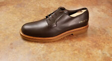 New! Common Projects Plain Toe Derby Shoes Gray Mens Size 7 US 40 Eur MSRP $538