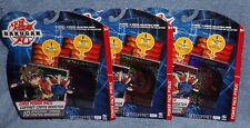 BAKUGAN CARD POWER PACK LOT THREE POWER PACK CARD PACKS LOT #1