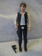 1977 Kenner Star Wars HAN SOLO vintage figure Large Head VARIANT Harrison Ford