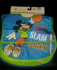 Disney Baby Boy'S Mickey Mouse Waterproof 2 Pack Bibs.