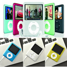 "MP3 MP4 3th Generation Music Media Player 1.8"" LCD Screen Portable Mini FM Radio"