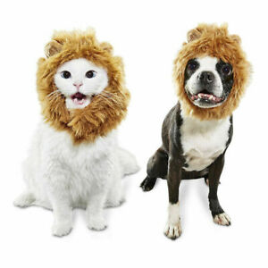 Bootique Cat Dog Halloween Costume Accessory Lion's Mane Event Small Medium S/M