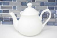 2 Cup Teapot White Bone China (71030) Tea Pot Classic Style