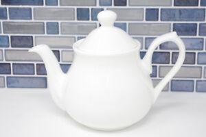 4 Cup Teapot White Bone China (71031) Tea Pot Classic Style